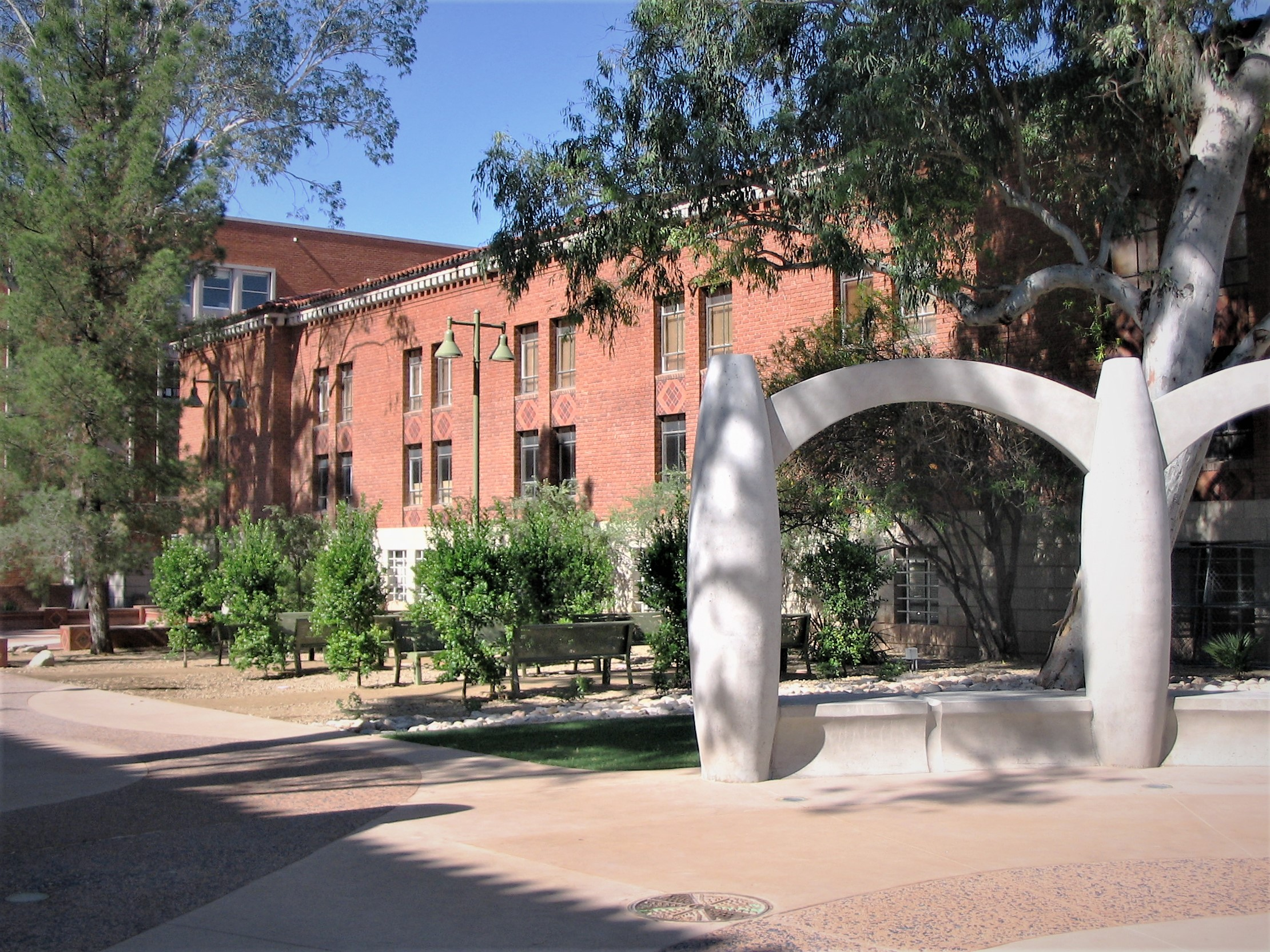 ... Landscape Architecture Firms In Tucson Participated In The Design And  Construction Of The Womenu0027s Plaza Of Honor On The University Of Arizona  Campus.