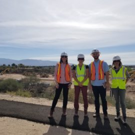 Shadow Day 2018 with University of Arizona Landscape Architecture Students